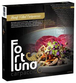 Verpakking Beef Fillet Carpaccio - Fortuna Carpaccio