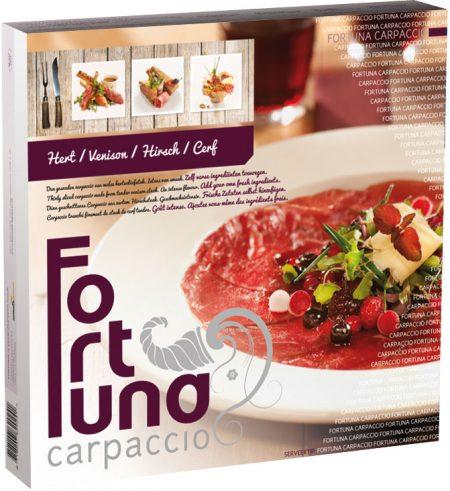 Verpakking - Carpaccio Hert - Fortuna Carpaccio