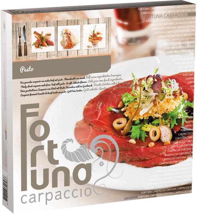 Verpakking - Carpaccio Pesto - Fortuna Carpaccio