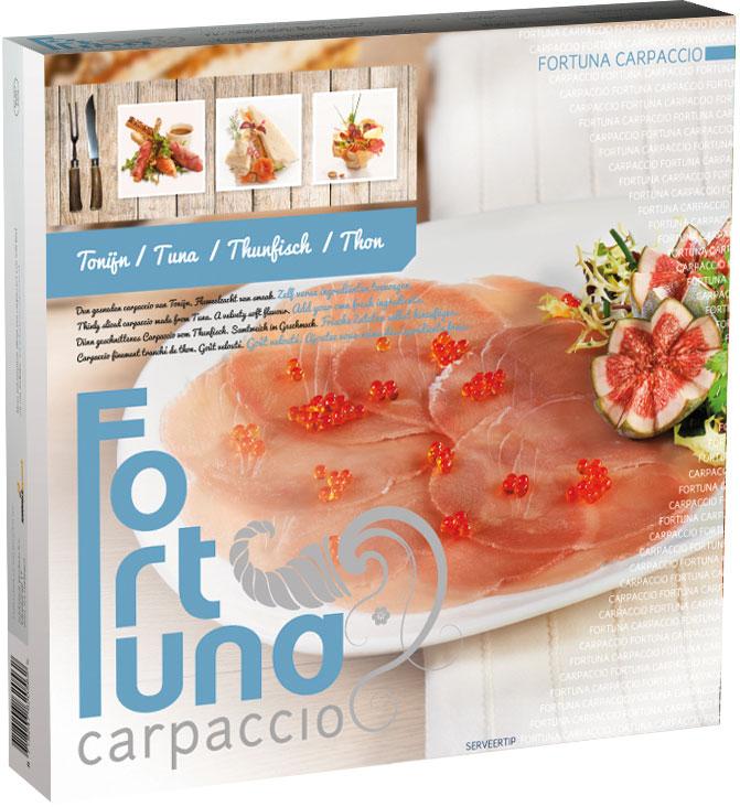 Verpakking - Carpaccio Tonijn - Fortuna Carpaccio