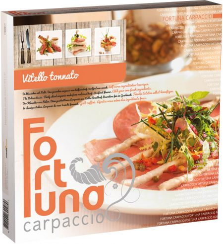 Verpakking - Carpaccio Vitello Tonnato - Fortuna Carpaccio