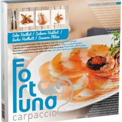 Verpakking - Carpaccio Zalm/Heilbot - Fortuna Carpaccio recept