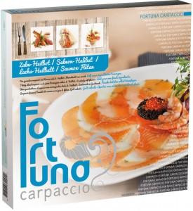 Verpakking - Carpaccio Zalm-Heilbot - Fortuna Carpaccio