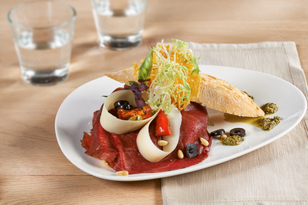 Sandwich carpaccio Pesto - Fortuna Carpaccio
