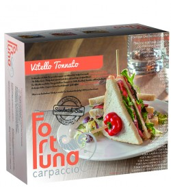 Vitello Tonnato sandwichsize - Fortuna Carpaccio