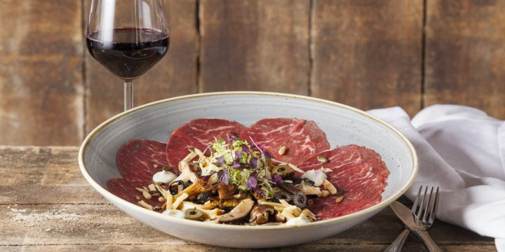 Beef Fillet Carpaccio - Fortuna Carpaccio