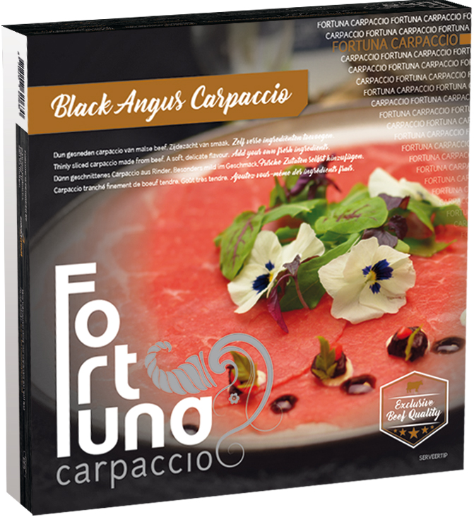 Black Angus Fortuna Carpaccio