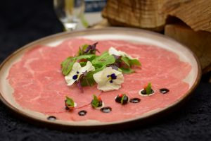 Black Angus carpaccio